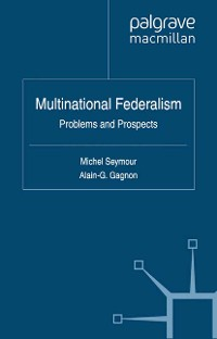 Cover Multinational Federalism