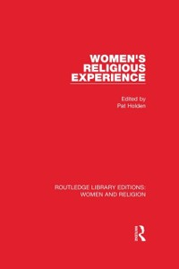 Cover Women's Religious Experience (RLE Women and Religion)