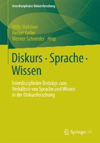 Cover Diskurs - Sprache - Wissen