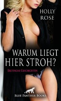 Cover Warum liegt hier Stroh? Erotische Geschichten