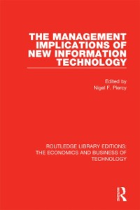 Cover Management Implications of New Information Technology