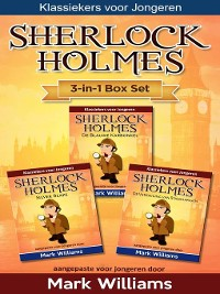 Cover Sherlock voor Kinderen 3-in-1 Box Set door Mark Williams