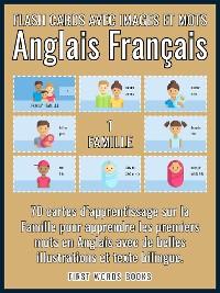 Cover 1 - Famille - Flash Cards avec Images et Mots Anglais Français