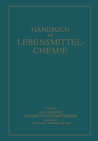 Cover Allgemeine Untersuchungsmethoden