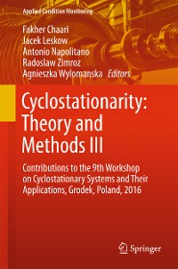Cover Cyclostationarity: Theory and Methods  III