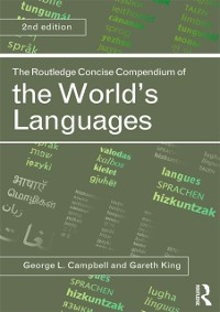 Cover Routledge Concise Compendium of the World's Languages