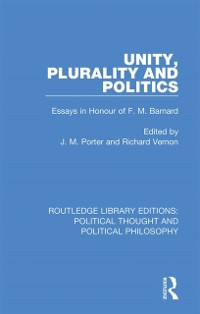 Cover Unity, Plurality and Politics