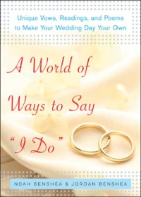 Cover World of Ways to Say I Do