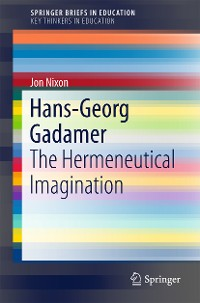 Cover Hans-Georg Gadamer
