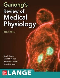 Cover Ganong's Review of Medical Physiology, Twenty  sixth Edition
