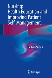 Cover Nursing: Health Education and Improving Patient Self-Management