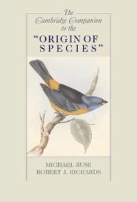 Cover Cambridge Companion to the 'Origin of Species'