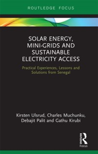 Cover Solar Energy, Mini-grids and Sustainable Electricity Access