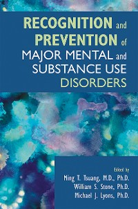 Cover Recognition and Prevention of Major Mental and Substance Use Disorders