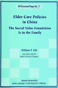 Cover Elder Care Policies In China: The Social Value Foundation Is In The Family