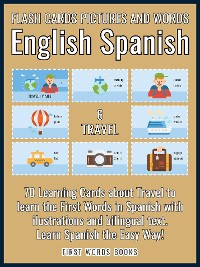 Cover 6 - Travel - Flash Cards Pictures and Words English Spanish