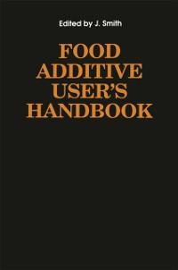 Cover Food Additive User's Handbook