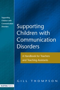 Cover Supporting Communication Disorders