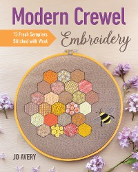 Cover Modern Crewel Embroidery