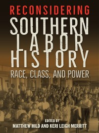 Cover Reconsidering Southern Labor History