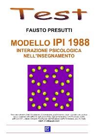 Cover Modello IPI 1988. Interazione psicologica nell'Insegnamento