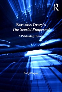 Cover Baroness Orczy's The Scarlet Pimpernel