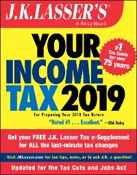 Cover J.K. Lasser's Your Income Tax 2019