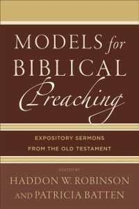 Cover Models for Biblical Preaching