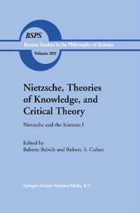 Cover Nietzsche, Theories of Knowledge, and Critical Theory