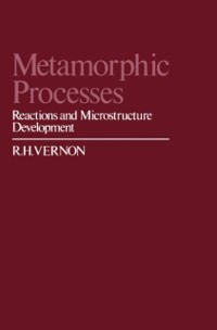 Cover Metamorphic Processes