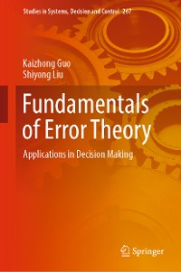 Cover Fundamentals of Error Theory