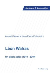 Cover Leon Walras