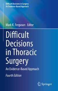 Cover Difficult Decisions in Thoracic Surgery
