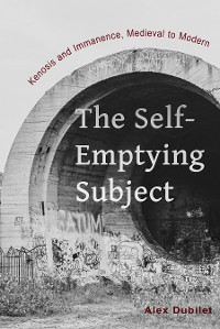 Cover The Self-Emptying Subject