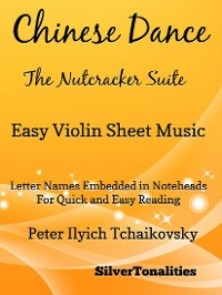 Cover Chinese Dance Nutcracker Suite Easy Violin Sheet Music