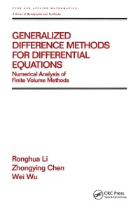 Cover Generalized Difference Methods for Differential Equations