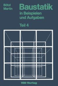 Cover Baustatik in Beispielen und Aufgaben