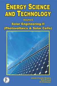 Cover Energy Science And Technology, Solar Engineering-II (Photovoltaics And Solar Cells)