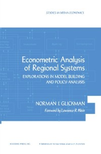 Cover Econometric Analysis of Regional Systems