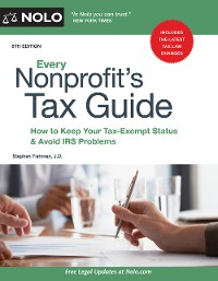Cover Every Nonprofit's Tax Guide