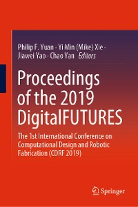 Cover Proceedings of the 2019 DigitalFUTURES