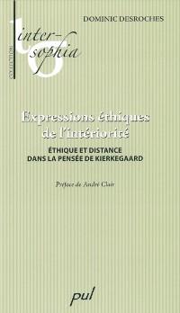 Cover Expressions ethiques de l'interiorite