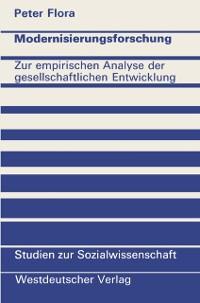 Cover Modernisierungsforschung
