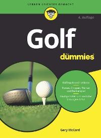Cover Golf für Dummies