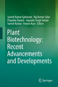 Cover Plant Biotechnology: Recent Advancements and Developments