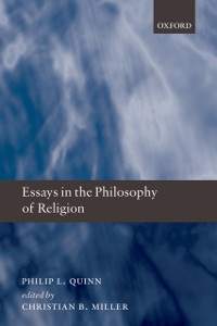 Cover Essays in the Philosophy of Religion