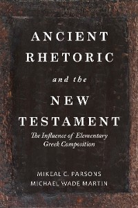 Cover Ancient Rhetoric and the New Testament