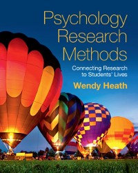 Cover Psychology Research Methods
