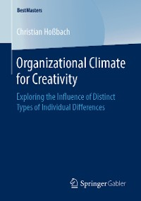 Cover Organizational Climate for Creativity