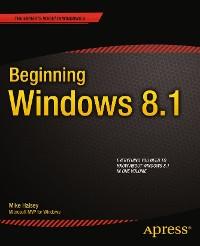 Cover Beginning Windows 8.1